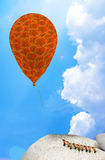 Ants and balloons Royalty Free Stock Photos
