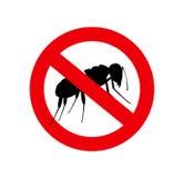 Ants Forbidden Symbol Stock Photo