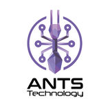 Ants Technology logo. Royalty Free Stock Photo