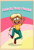 Ants in your pants Stock Image
