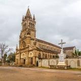 Antsirabe - καθεδρικός ναός της Notre Dame Salette Στοκ Φωτογραφίες