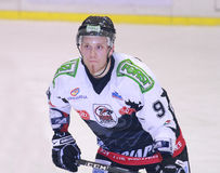 Antti Hilden of the HC Merano Stock Image