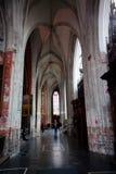 Antuérpia, Bélgica - 19 de junho de 2011: Interior da catedral de nossa senhora Fotos de Stock Royalty Free