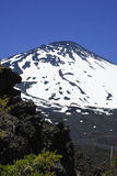 Antuco Volcano, Chile Stock Photo