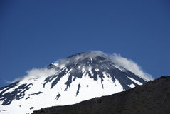 Antuco volcano in Chile Royalty Free Stock Image