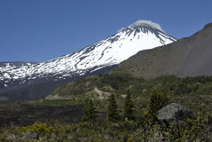 Free Antuco Volcano In Chile Royalty Free Stock Image - 24973786