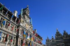 Antwerp. Antwerp's Town Hall, Belgium Royalty Free Stock Images