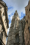 Antwerp. The Cathedral Of Our Lady, Antwerp, Belgium royalty free stock photos