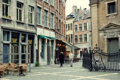 Antwerp - August 2010: sightseeing royalty free stock photography