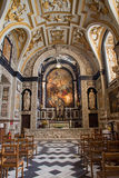 Antwerp - Baroque side chapel of St. Charles Borromeo church Royalty Free Stock Images