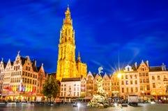 antwerp Belgien Arkivfoto