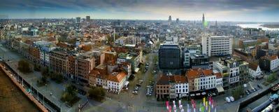 Antwerp Belgien 2015 Fotografering för Bildbyråer
