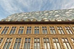 Antwerp Belgien - Oktober 2016: Det nya porthuset i Antwerp r Royaltyfri Fotografi