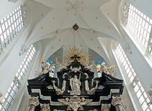 Antwerp Belgium. Cathedral of Our Lady in Antwerp, Belgium (Onze-Lieve-Vrouwekathedraal Royalty Free Stock Images