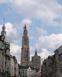 Antwerp Belgium Stock Photo