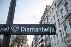 Free Antwerp Belgium Diamond Street Sign Stock Photo - 145746800