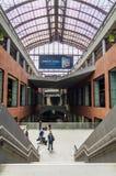 Antwerp, Belgium - May 11, 2015: People in Main hall of Antwerp Royalty Free Stock Photography