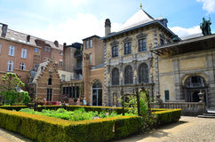 Antwerp, Belgium - May 10, 2015: Tourist visit Rubenshuis (Rubens House) in Antwerp. Royalty Free Stock Photography