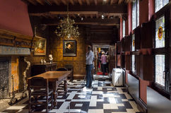 Antwerp, Belgium - May 10, 2015: Tourist visit Rubenshuis (Rubens House) Royalty Free Stock Images