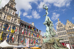 Antwerp, Belgium Royalty Free Stock Photography