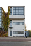 Antwerp, BELGIUM - October 2016: Guiette House designed by Le Co. Rbusier`s in 1926. It`s an early and classic example of the `International Style` and built in Stock Photos