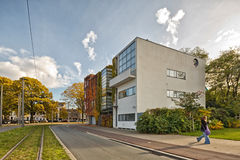 Antwerp, BELGIUM - October 2016: Guiette House designed by Le Co. Rbusier`s in 1926. It`s an early and classic example of the `International Style` and built in Royalty Free Stock Photos