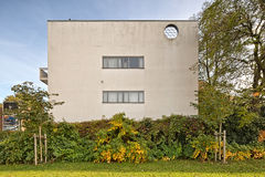 Antwerp, BELGIUM - October 2016: Guiette House designed by Le Co. Rbusier`s in 1926. It`s an early and classic example of the `International Style` and built in Royalty Free Stock Photo