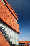The MAS museum in Antwerp Stock Images