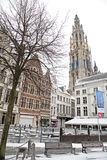 Antwerp architecture Royalty Free Stock Photography