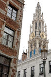 Antwerp architecture Stock Photography