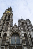 Antwerp Cathedral Stock Photo
