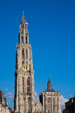 Antwerp Cathedral Stock Photography