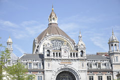 Antwerp Central railway station Stock Images