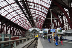 Antwerp Central station, Belgium Stock Photography