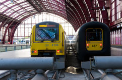 Antwerp central train station Royalty Free Stock Photos