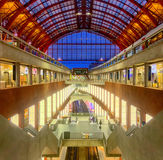 Antwerp central train station Stock Images