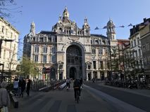 Antwerp centrali dworzec Zdjęcie Stock