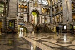 Antwerp centralstation Royaltyfri Foto