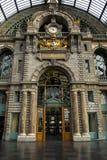 Antwerp centralstation Arkivfoto