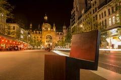Antwerp centralstation Arkivbilder