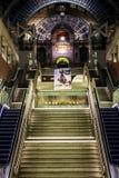 Antwerp centralstationtrappuppgångar arkivbild