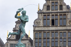 Antwerp City Center Stock Photo