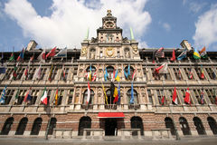 Antwerp City Hall Stock Images