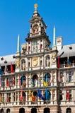 Antwerp City Hall in Belgium Royalty Free Stock Photography