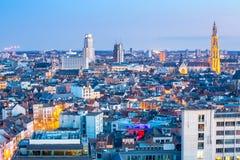 Antwerp cityscape Royalty Free Stock Photos