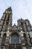 Antwerp domkyrka Arkivfoto