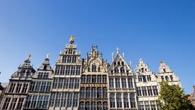 Antwerp facades Royalty Free Stock Photo