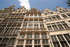 Antwerp Gables Royalty Free Stock Photos