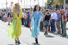 Antwerp Gay Pride 2014 Stock Image