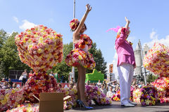Antwerp Gay Pride 2014 Stock Images
